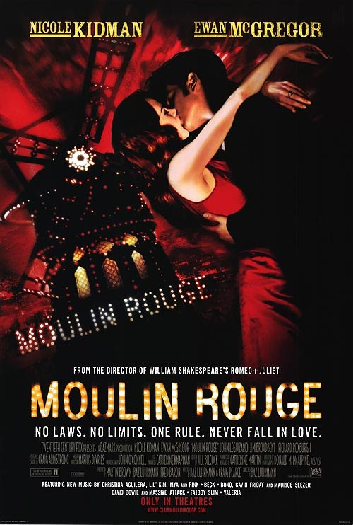Moulin Rouge! (2001) online. Obsada, opinie, opis fabuły, zwiastun
