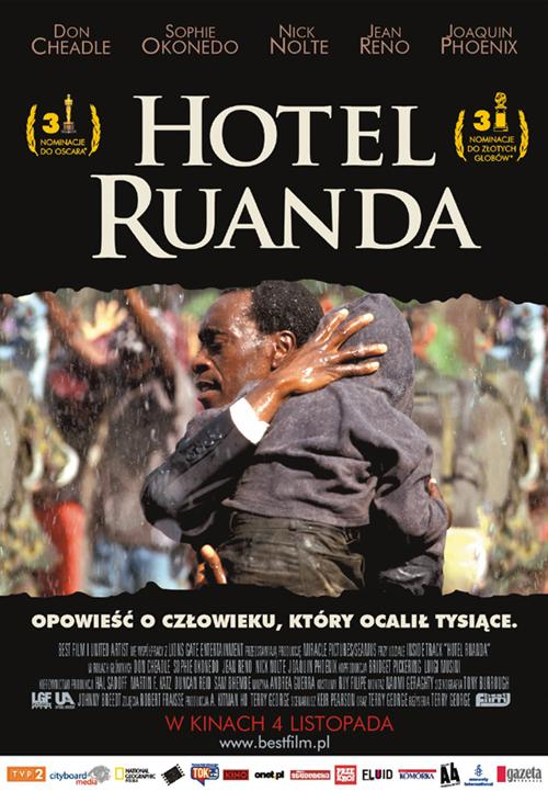 Hotel Ruanda (2004) online. Obsada, opinie, opis fabuły, zwiastun