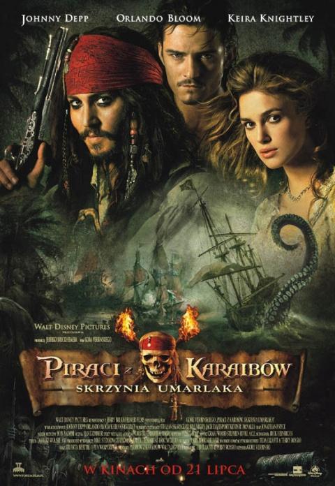 Piraci z Karaibów: Skrzynia umarlaka (2006) online. Obsada, opinie, opis fabuły, zwiastun