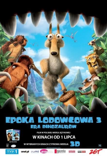 Epoka lodowcowa 3 (2009) online. Obsada, opinie, opis fabuły, zwiastun
