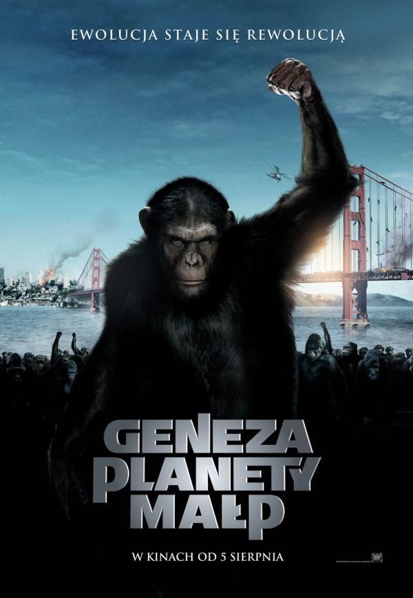 Geneza planety małp (2011) online. Obsada, opinie, opis fabuły, zwiastun