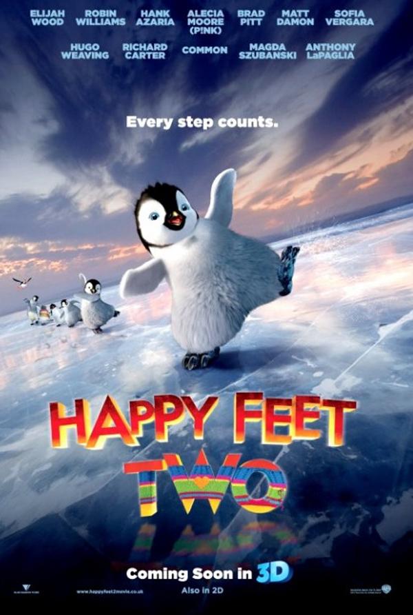 Happy Feet: Tupot małych stóp 2 3D (2011) online. Obsada, opinie, opis fabuły, zwiastun