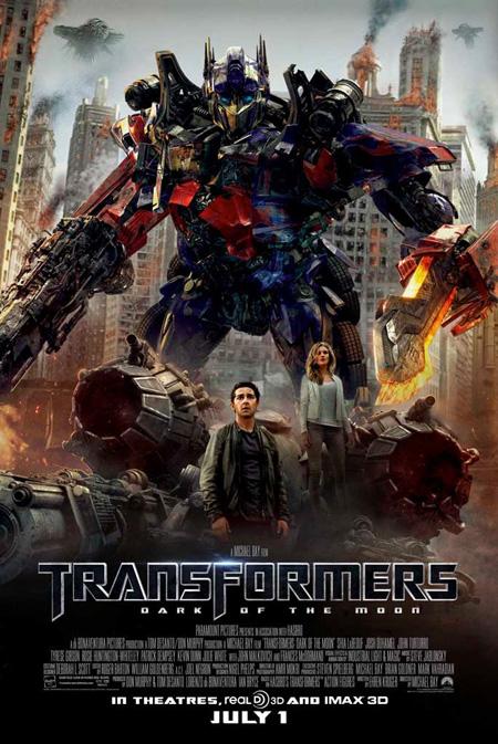 Transformers 3 (2011) online. Obsada, opinie, opis fabuły, zwiastun