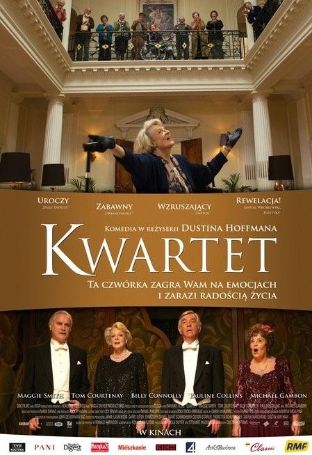 Kwartet (2012) online. Obsada, opinie, opis fabuły, zwiastun