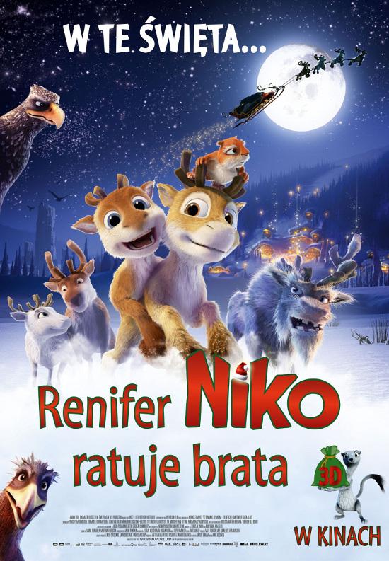 Renifer Niko ratuje brata (2012) online. Obsada, opinie, opis fabuły, zwiastun