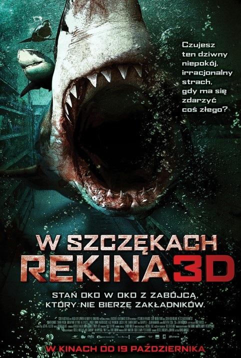 W szczękach rekina 3D (2012) online. Obsada, opinie, opis fabuły, zwiastun