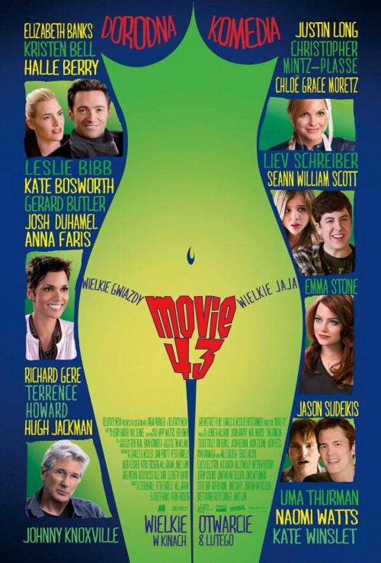 Movie 43 (2013) online. Obsada, opinie, opis fabuły, zwiastun