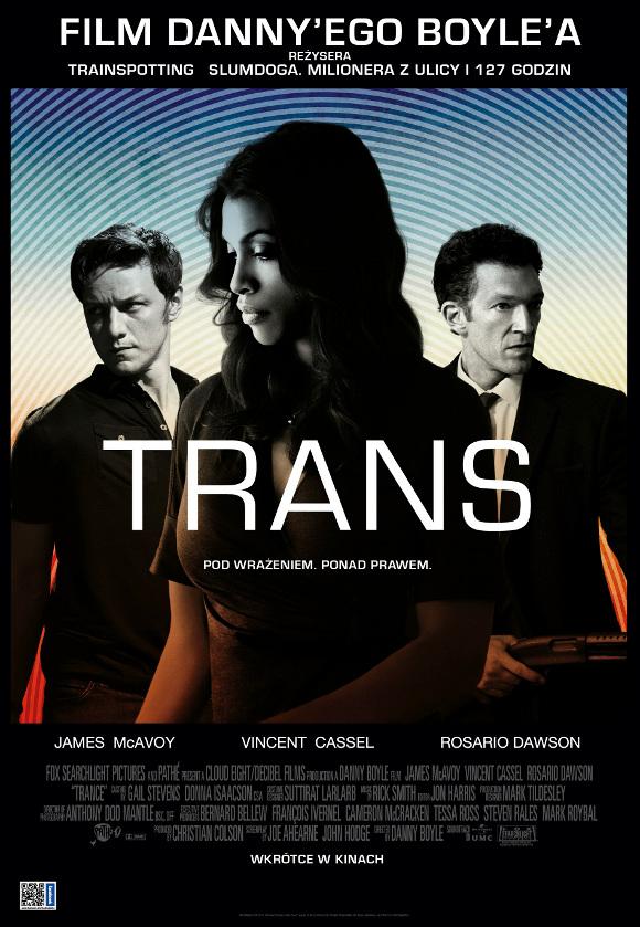 Trans (2013) online. Obsada, opinie, opis fabuły, zwiastun