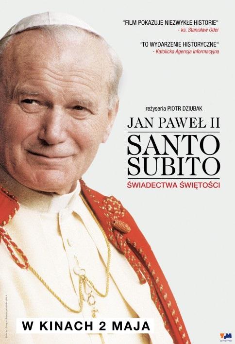 Jan Paweł II - Santo Subito. Świadectwa świętości (2014) online. Obsada, opinie, opis fabuły, zwiastun