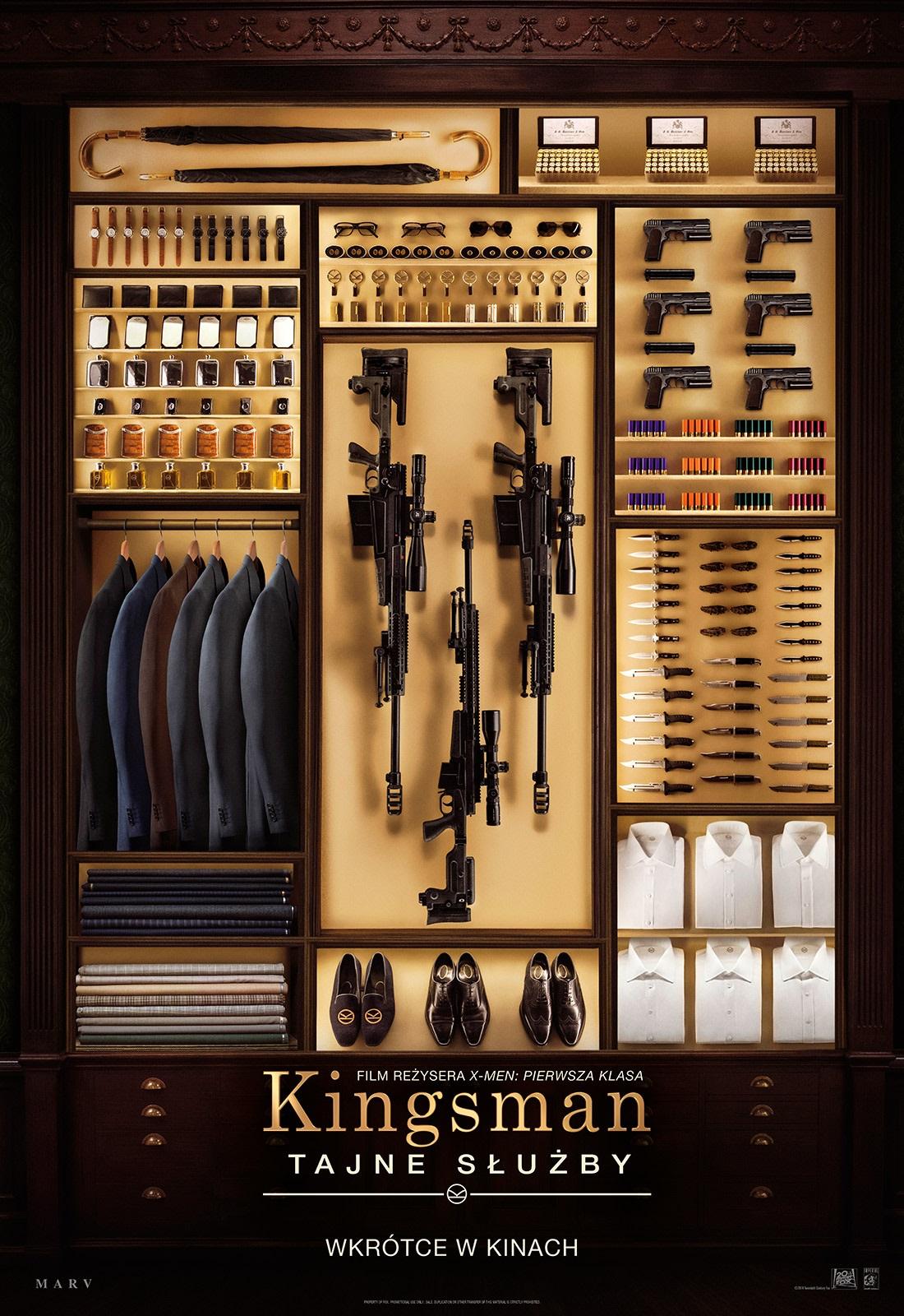 Kingsman: Tajne służby (2014) online. Obsada, opinie, opis fabuły, zwiastun