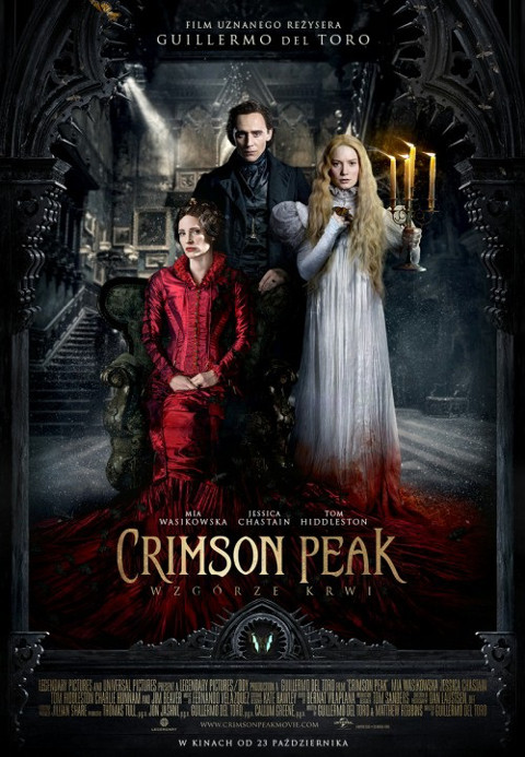 Crimson Peak. Wzgórze krwi (2015) online. Obsada, opinie, opis fabuły, zwiastun
