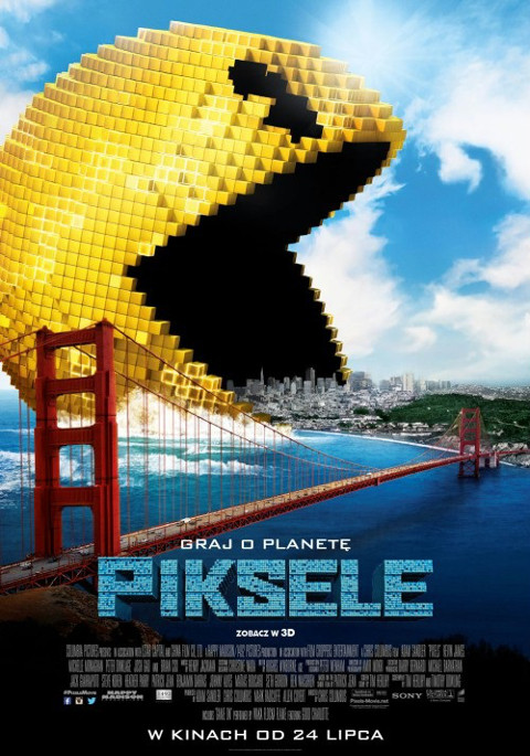 Piksele (2015) online. Obsada, opinie, opis fabuły, zwiastun
