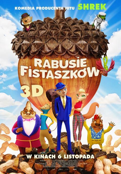 Rabusie fistaszków (2015) online. Obsada, opinie, opis fabuły, zwiastun