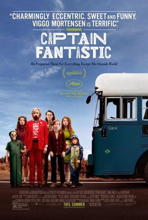 Captain Fantastic (2016) online. Obsada, opinie, opis fabuły, zwiastun