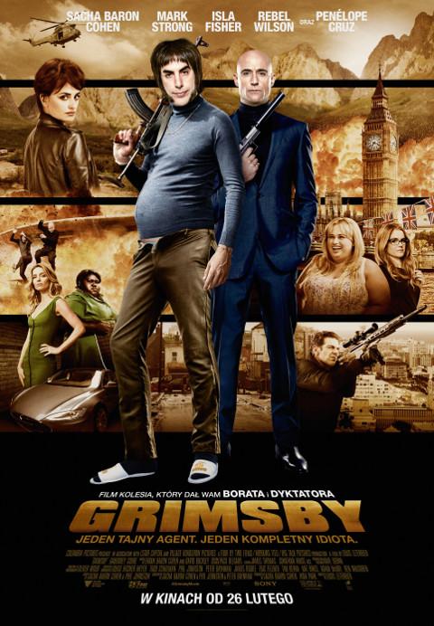 Grimsby (2016) online. Obsada, opinie, opis fabuły, zwiastun