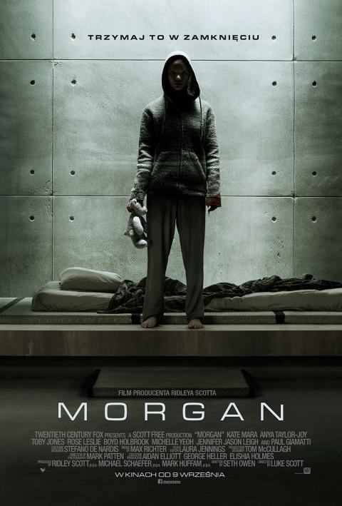 Morgan (2016) online. Obsada, opinie, opis fabuły, zwiastun