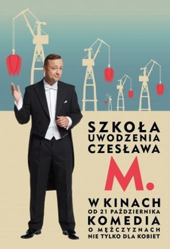 Szkoła uwodzenia Czesława M. (2016) online. Obsada, opinie, opis fabuły, zwiastun