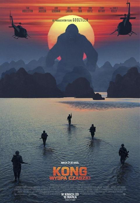 Kong: Wyspa Czaszki (2017) online. Obsada, opinie, opis fabuły, zwiastun