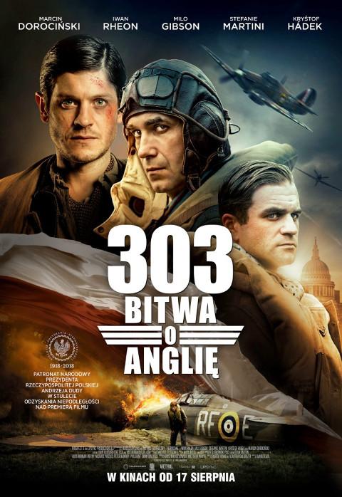303: Bitwa o Anglię (2018) online. Obsada, opinie, opis fabuły, zwiastun