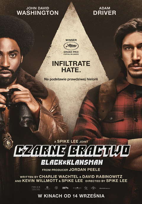Czarne bractwo. BlacKkKlansman (2018) online. Obsada, opinie, opis fabuły, zwiastun