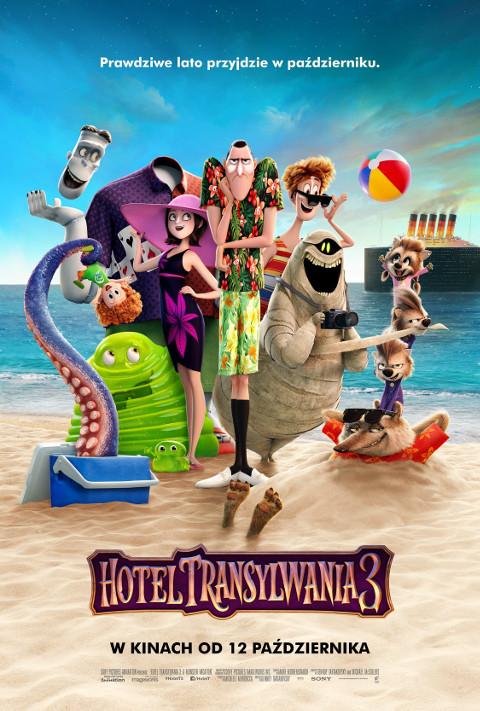 Hotel Transylwania 3 (2018) online. Obsada, opinie, opis fabuły, zwiastun