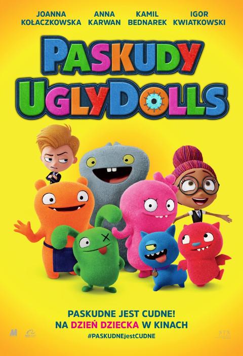 Paskudy. UglyDolls (2019) online. Obsada, opinie, opis fabuły, zwiastun